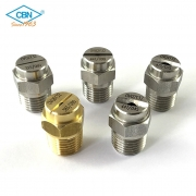Flat and Straight Jet Nozzles